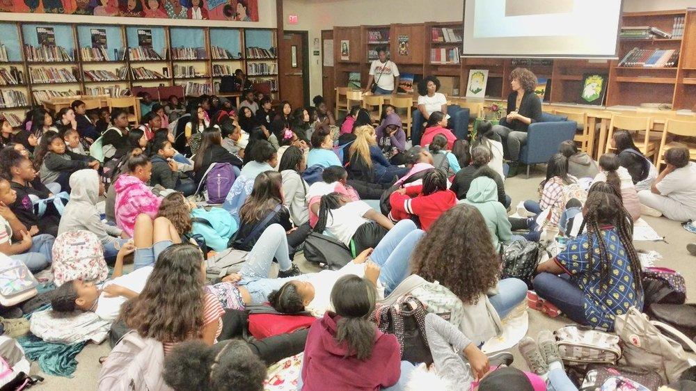 Click HERE for more about the Westlake Middle School Women's Empowerment Assembly .