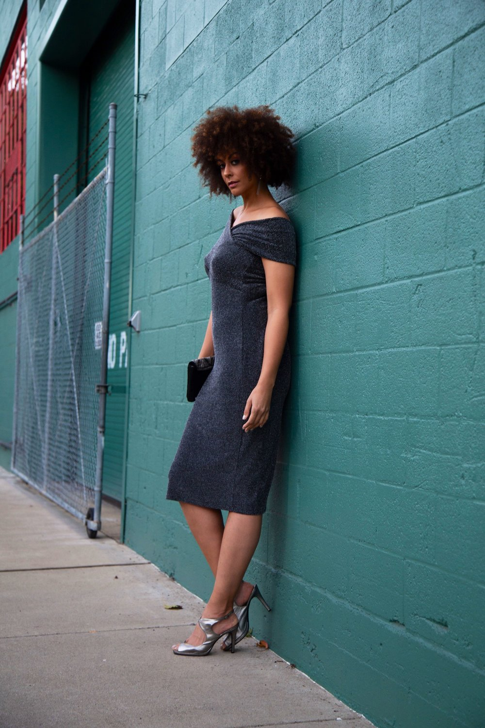 Multiway Dress - Long Tall Sally (shown in a size 10) / Shoes - Payless/Accessories - Forever21  Photos by  Lakeela Smith