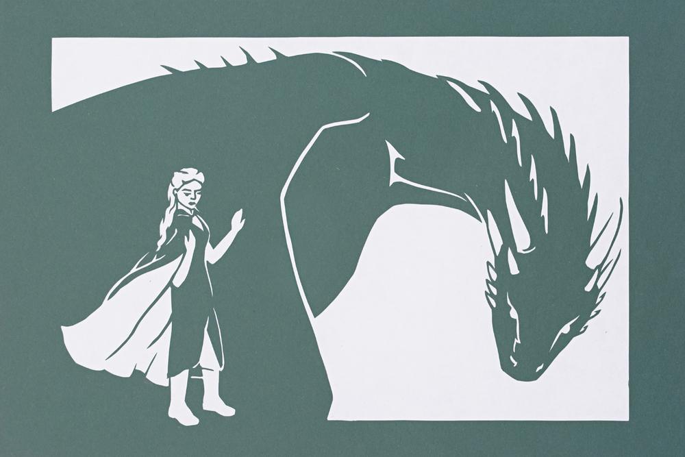 Daenerys and her Dragon (bonus)