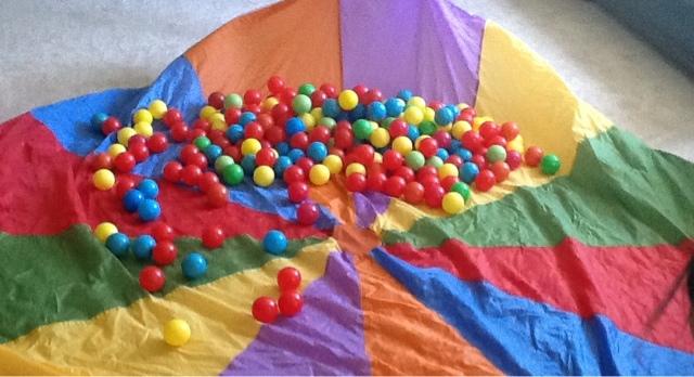 ballsparachute