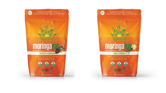 My most recent natural health product packaging copywriting project: SuperLeaf Moringa Plus.