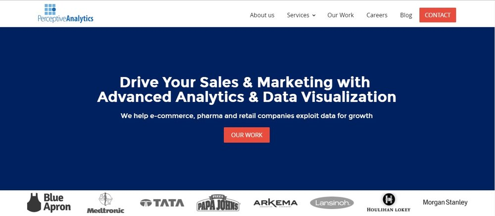 data analytics copywriting