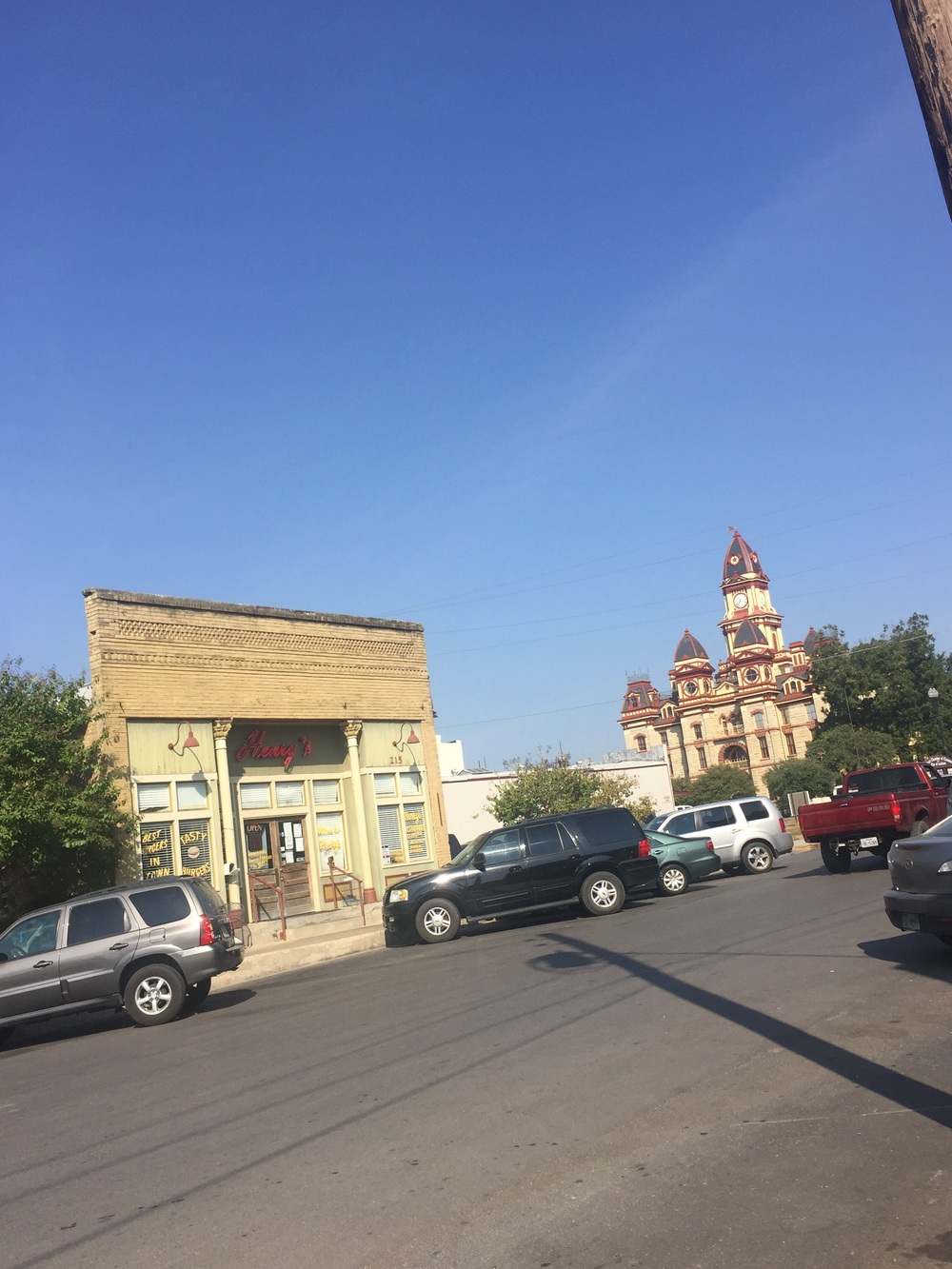 Downtown Lockhart, TX; Courthouse Square