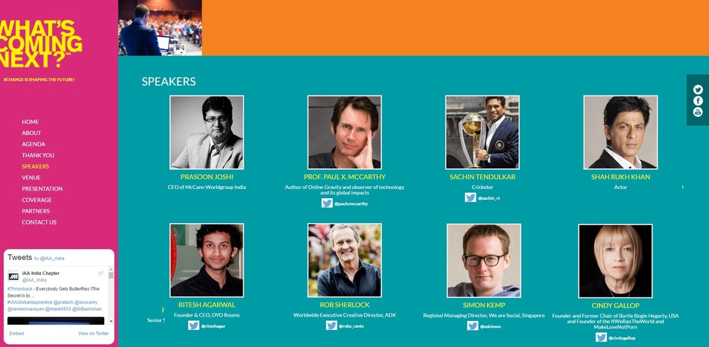 keynote conference speakers IAA Summit
