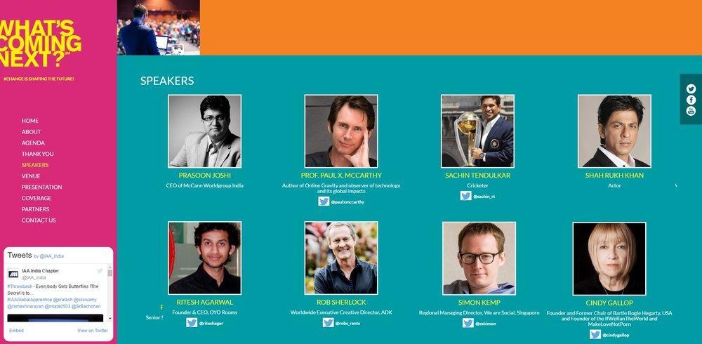 keynote conference speakers IAA Summit