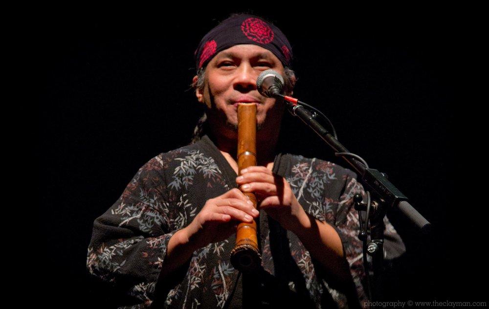 Alcvin Ryuzen Ramos performing Shakuhachi