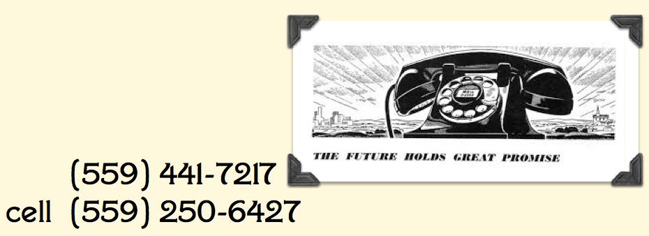 Phone us...