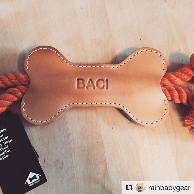 #Repost @rainbabygear with @get_repost ・・・ Need a gift for your favorite dog, or dog lover? Look no further. @housedogge has the perfect handcrafted, customizable tug toy. #dog #doggifts #dogtoys #housedogge #portlandmade