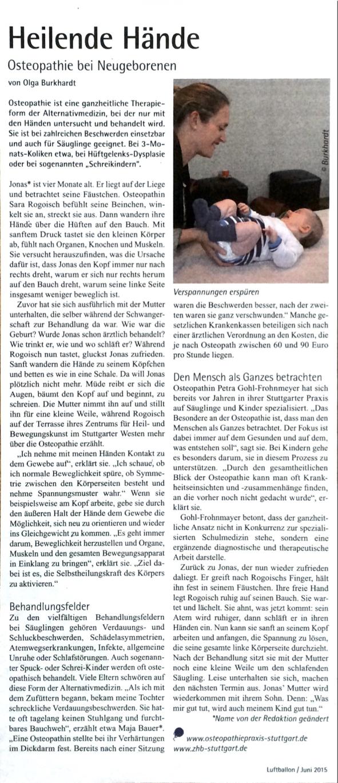 aus Elternzeitung Luftballon, Ausgabe Juni 2015