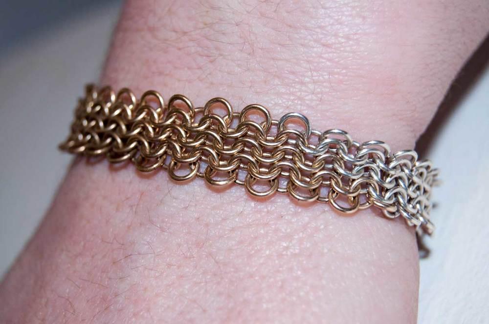 """GoldFill/Bronze/S.Silver (Euro 4-1) 0.5""""x6.5"""""""