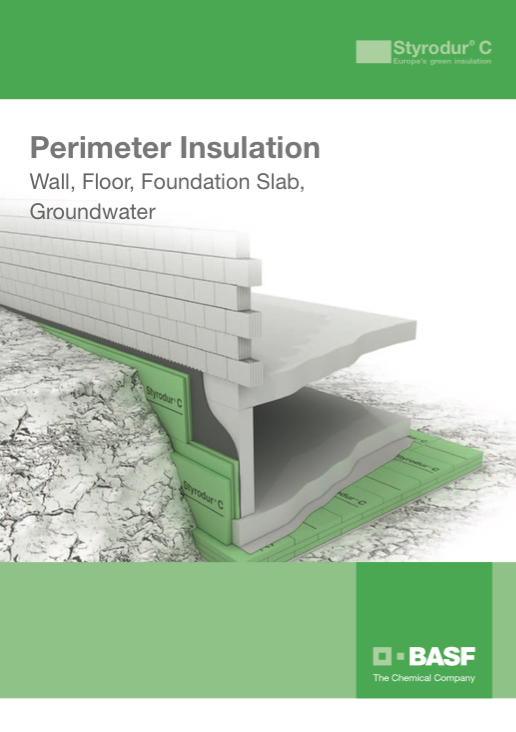 BASF STYRODUR PERIMETER APPLICATION
