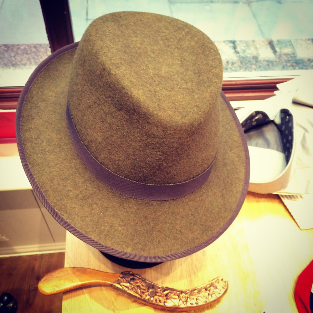 The City Milliner Loden Mix