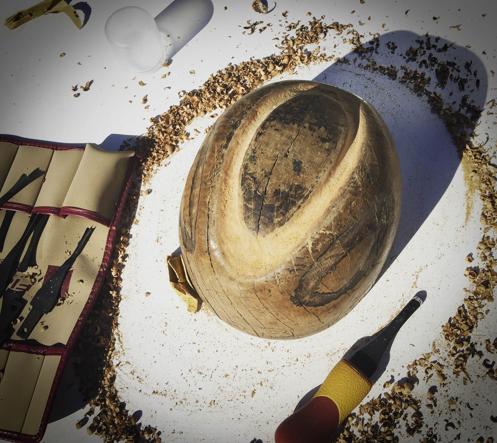 The City Milliner Recarving old hatblocks-1.jpg