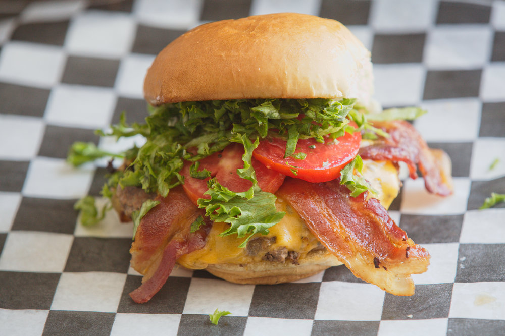 The Sean Bacon Cheeseburger