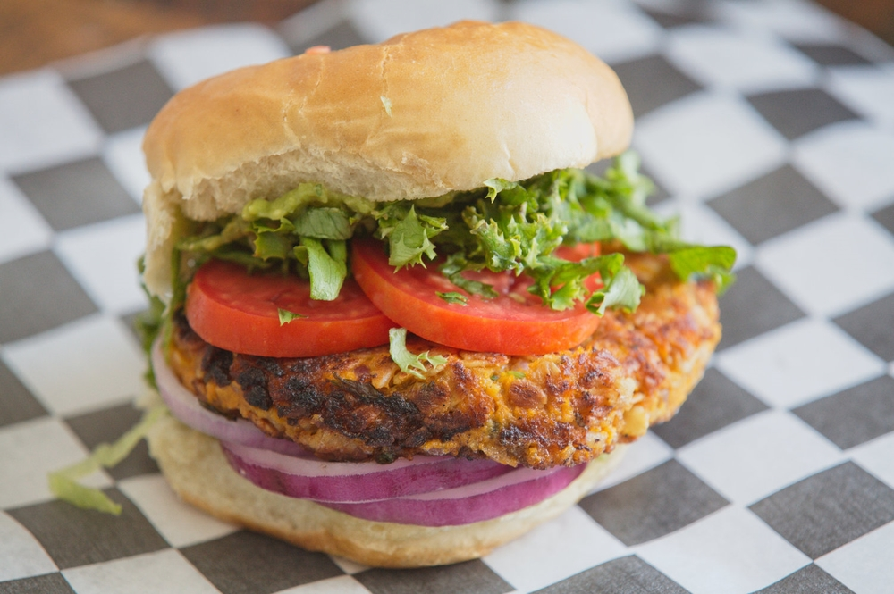 The Kaarin Veggie Burger