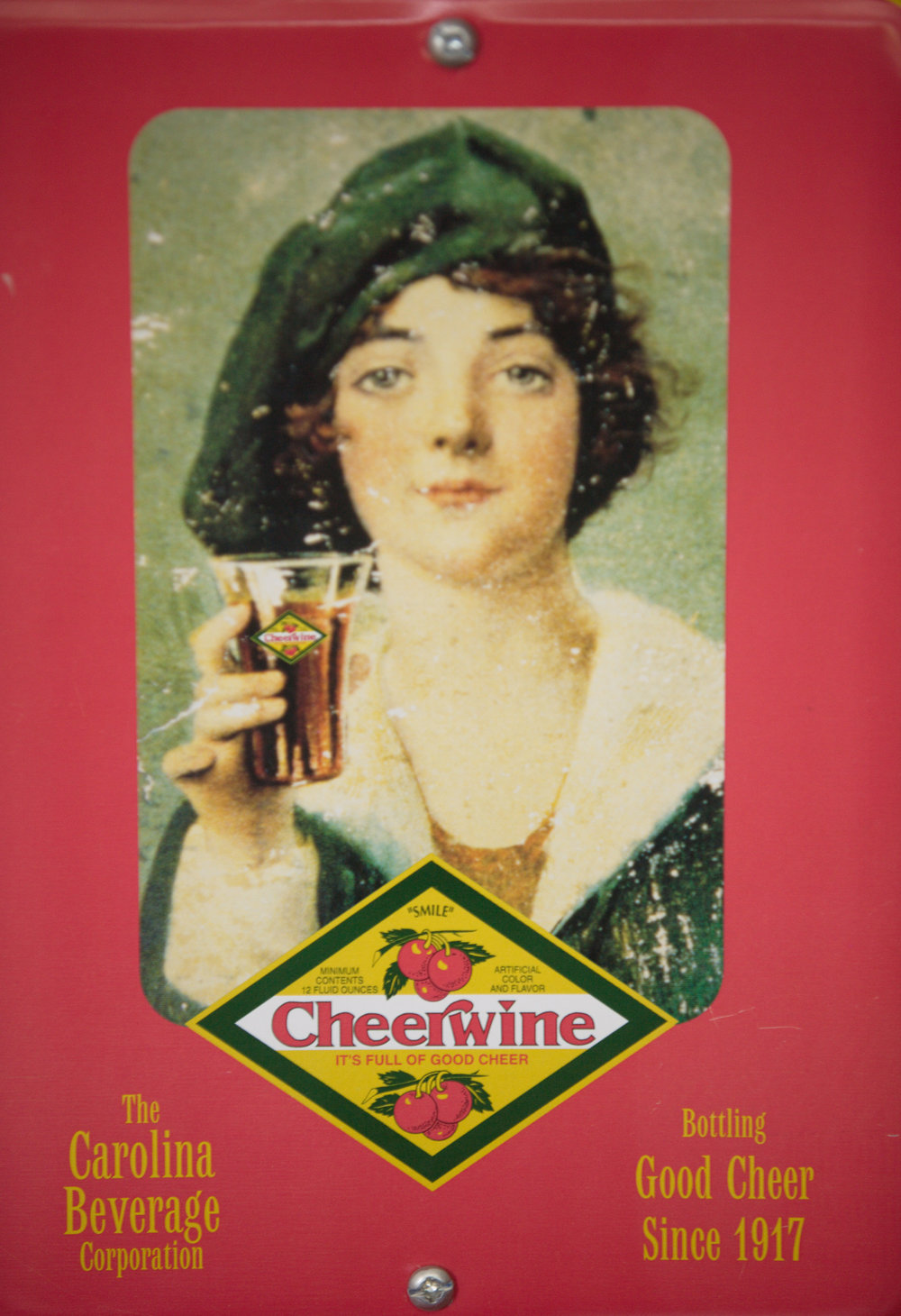 Vintage Cheerwine Poster