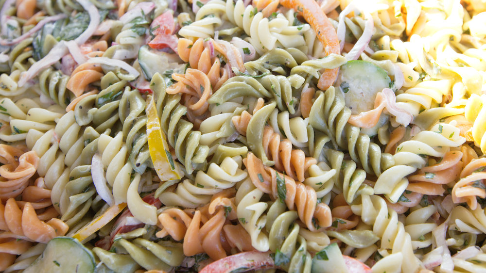 Al's seasonal pasta salad