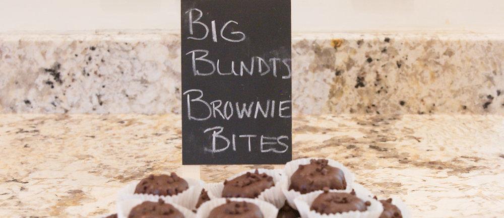 Freshly-baked desserts