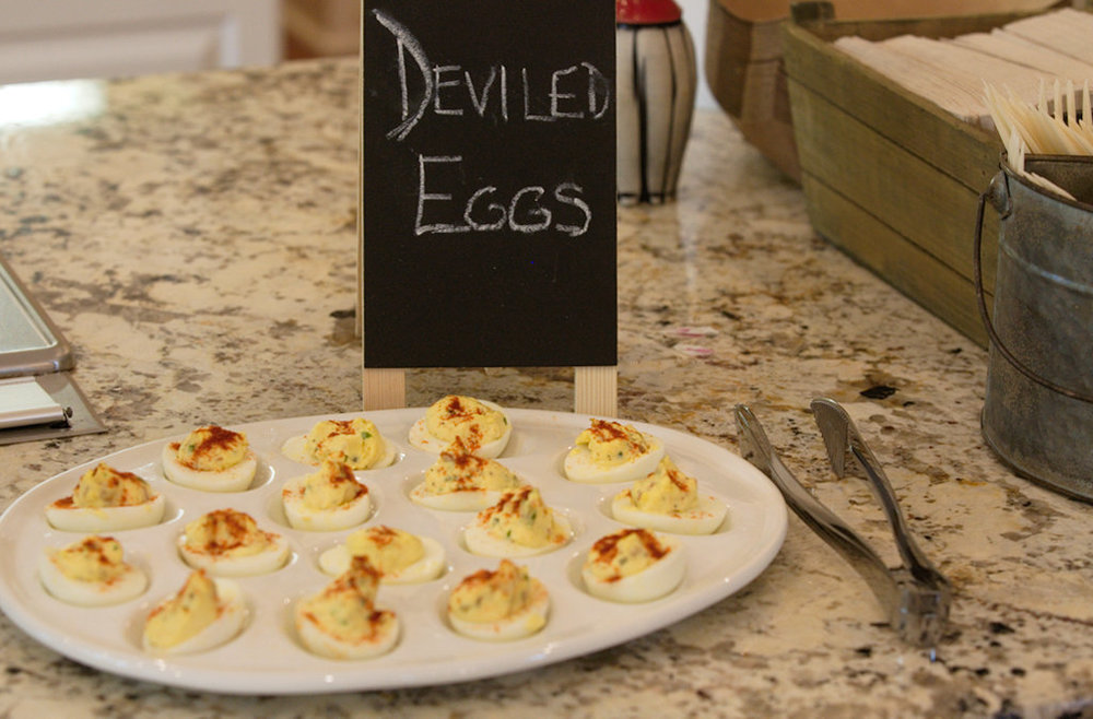 Housemade deviled eggs