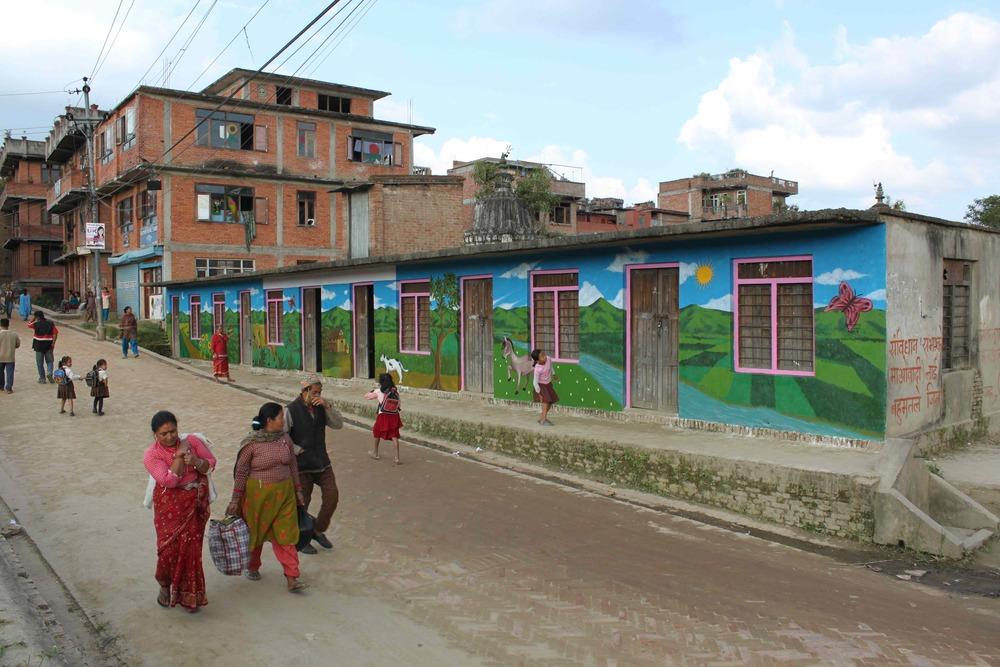 'Rolling Hills' Acrylic 8'x60' Nepal