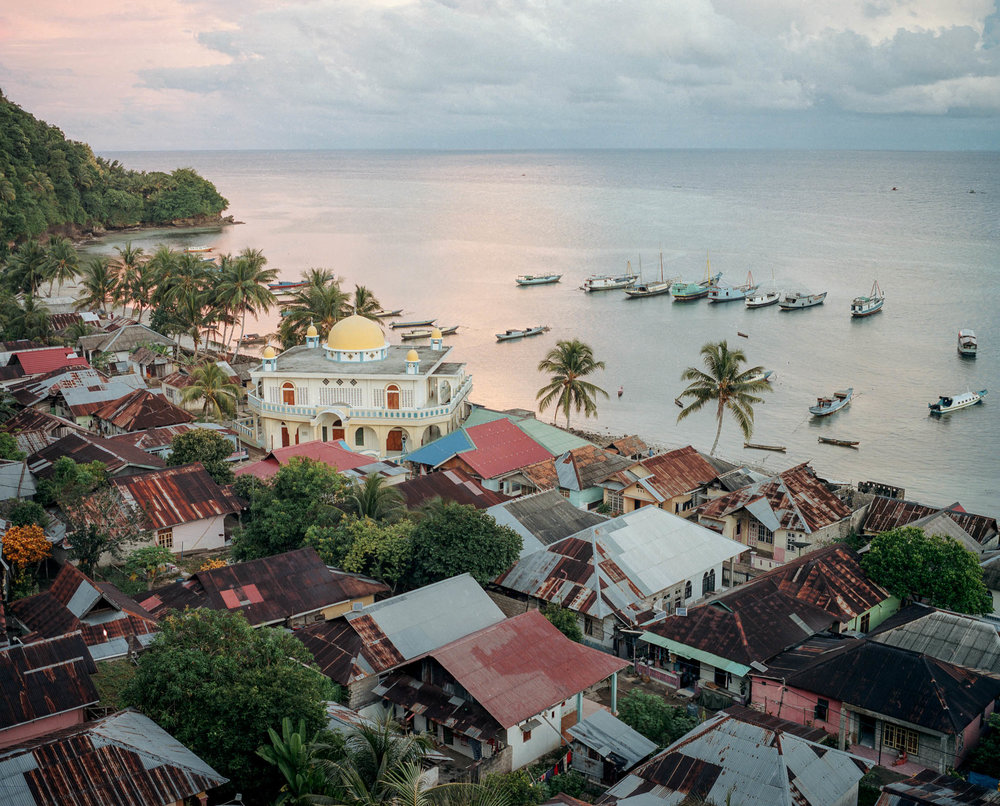 Rhun Island, the smallest island in Banda with the most nutmeg tree, back in the 17th century. image by : Muhammad Fadli for proof.nationalgeographic.com