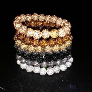 Stack of bracelets