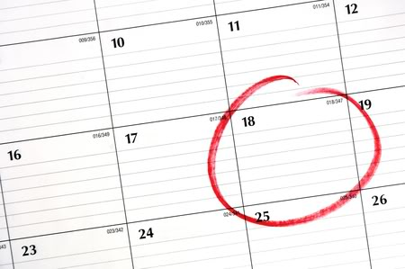 circle calendar