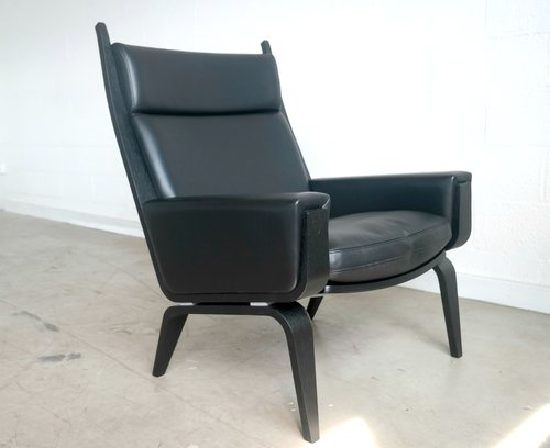 high back easy chair by hans wegner jenmod