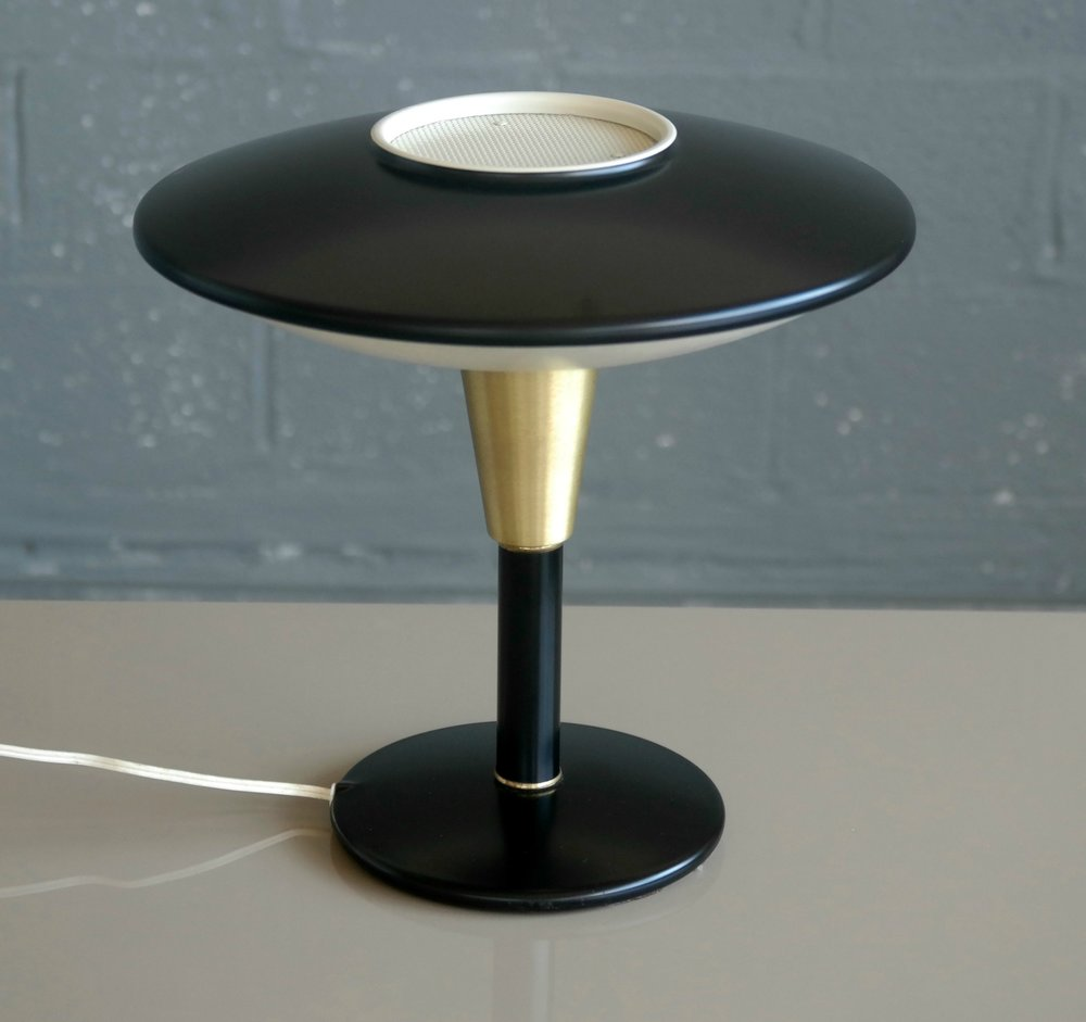 1950s Flying Saucer Desk Lamp by Dazor  https://www.chairish.com/collection/nate-berkus