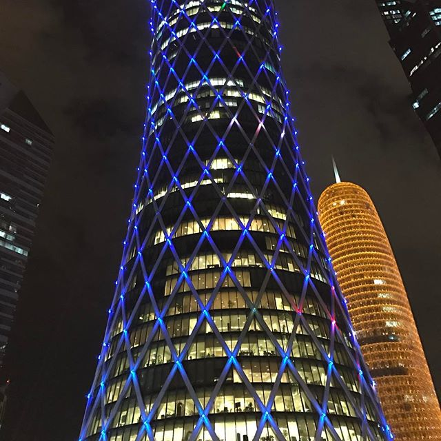 Spotted: a Jean Nouvel called Burj #jeannouvel #architecture #doha #qatar #hoogstaand