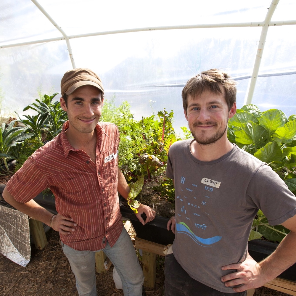 Michael Hanan and Lloyd Minick, Ten Acre Organics Ten Acre Organics is working to build the most sustainable and productive ten-acre farm in the world, as a model that can be replicated around cities everywhere, reducing water usage by up to 90%.