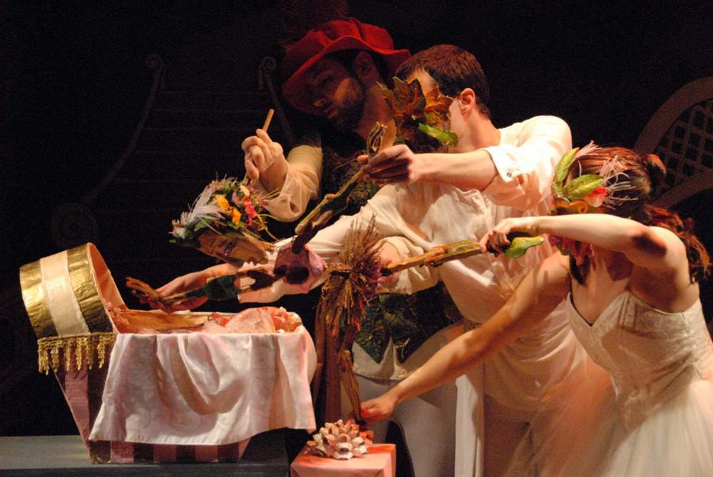 SLEEPING BEAUTY: A puppet ballet -