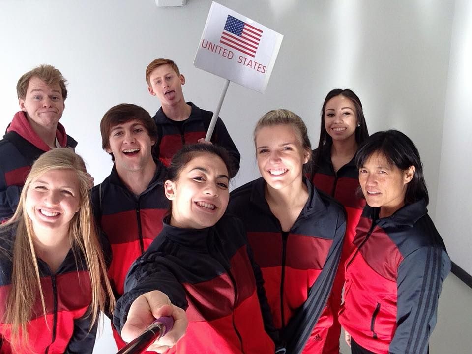 2015 AAU USA  karate team selfie.jpg
