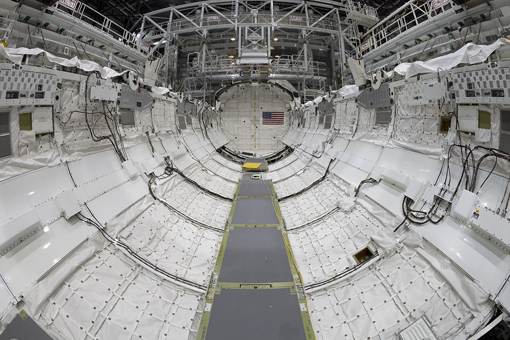Payload Bay, Space Shuttle Endeavour