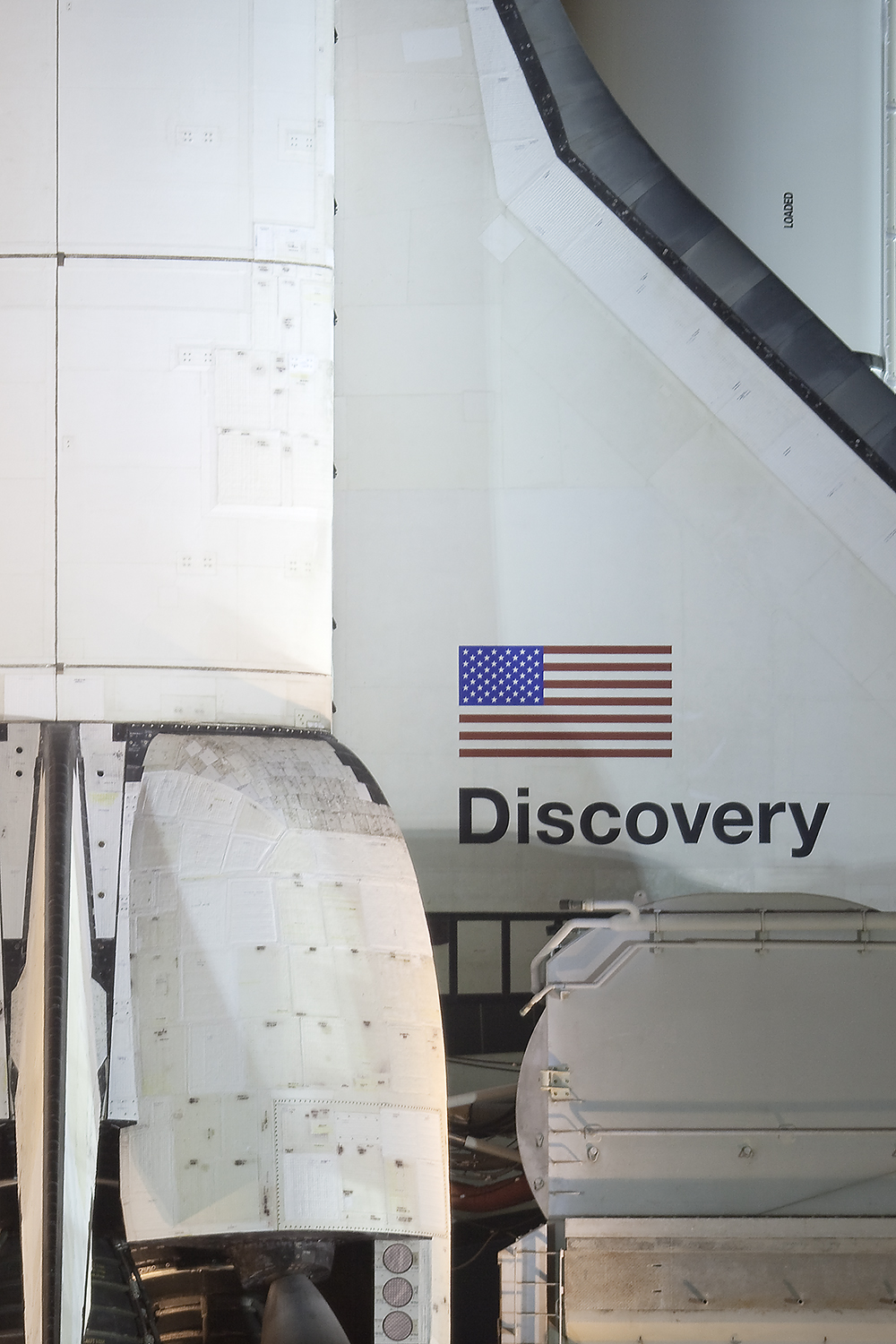Aft Detail, Space Shuttle Discovery