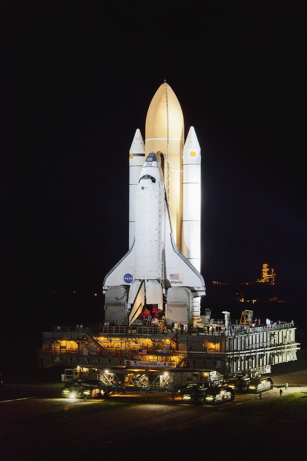 Final Rollout, STS-135, Space Shuttle Atlantis