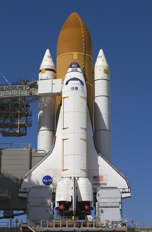 Atlantis, STS-125, Pad 39A