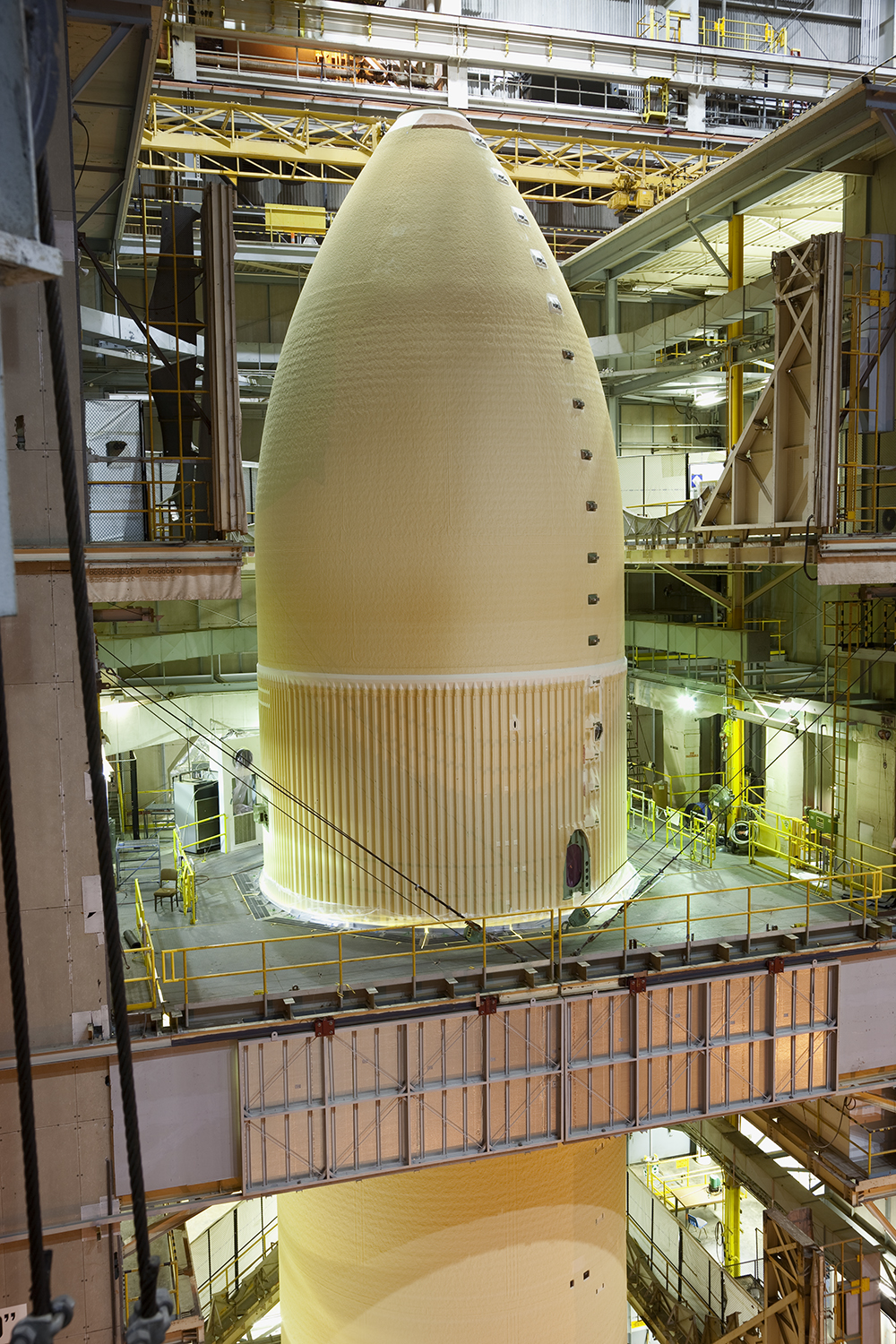 External Tank Foam Application, Michoud Assembly Facility, Louisiana