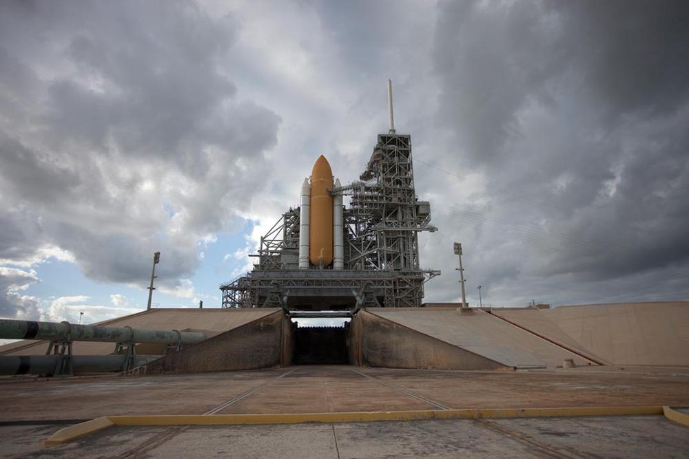STS-400 on Pad B