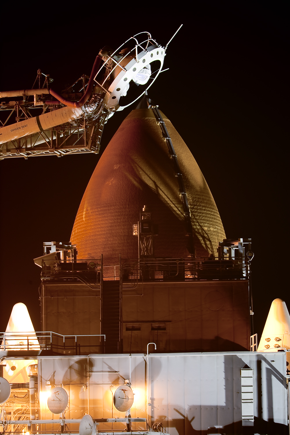 "External Tank and Oxygen ""Beanie Vent"""