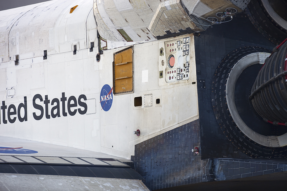 Aft Detail, Space Shuttle Endeavour
