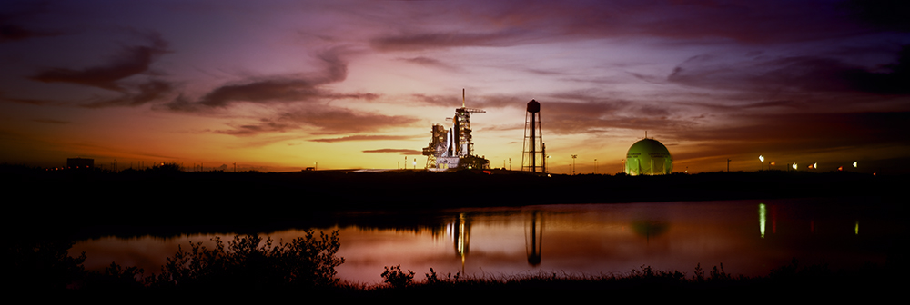 Night Before Launch, STS-54, Space Shuttle Endeavour