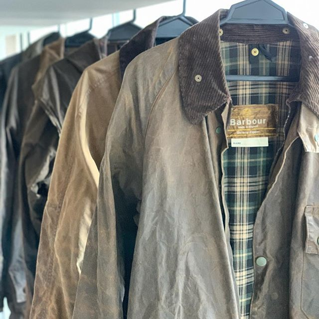 We've got bunch of vintage barbour's in stock