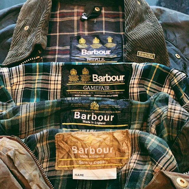 Barbour generations