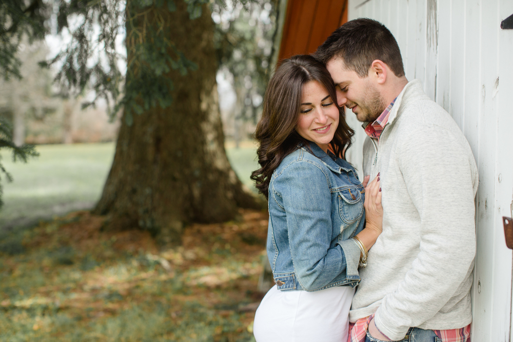 Rustic PA Engagement Session Jordan DeNike