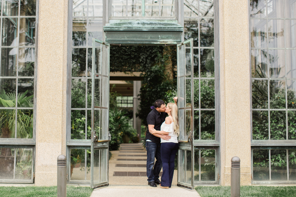 Longwood Gardens Engagement Session Jordan DeNike