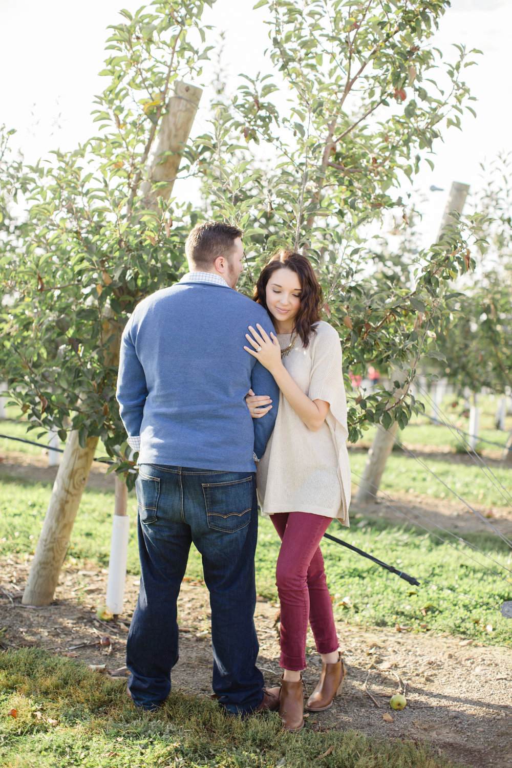 Scranton PA Wedding Photographers Fall Apple Orchard Engagement Session CM_JDP-1740.jpg