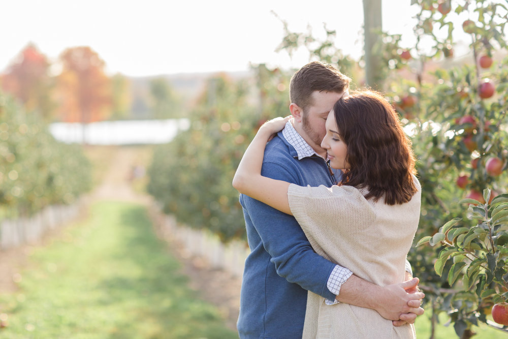 Scranton PA Wedding Photographers Fall Apple Orchard Engagement Session CM_JDP-2119.jpg