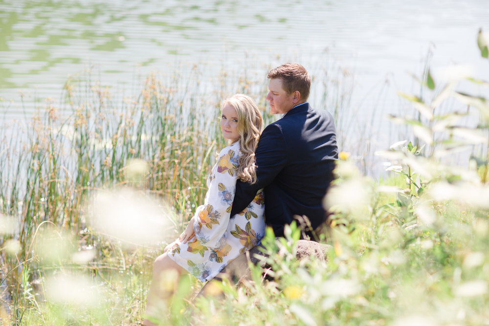 PA Summer Engagement Session Photos