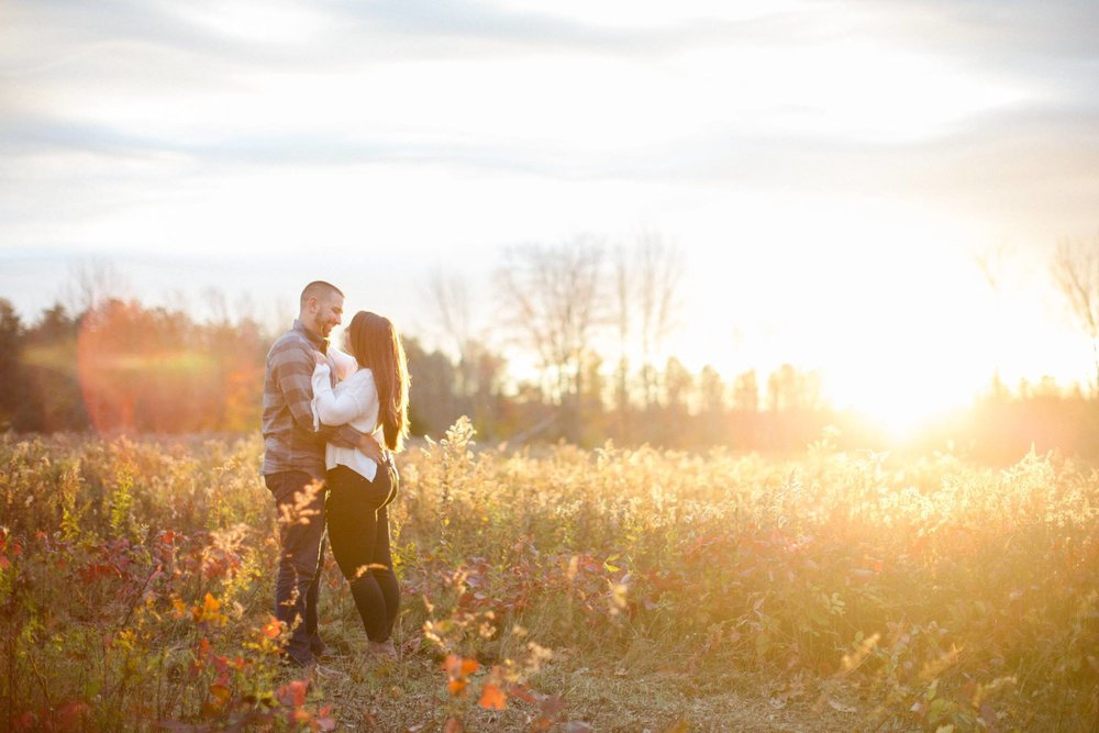 Moffat Estate Moscow PA Fall Engagement Session Golden Hour Photos.jpg